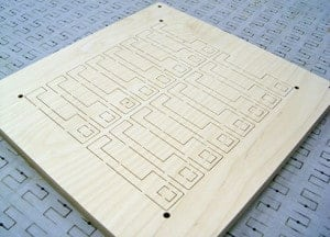 Steel Rule die board cut